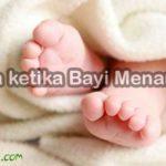 Doa ketika Bayi Menangis